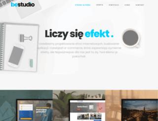 bestudio.pl screenshot