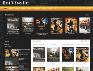 bestvideoslist.blogspot.com screenshot