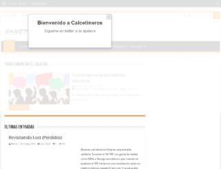 beta.calcetineros.com screenshot