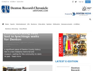 beta.dentonrc.com screenshot