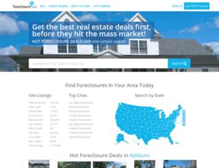 beta.foreclosure.com screenshot