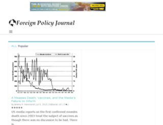 beta.foreignpolicyjournal.com screenshot