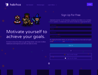beta.habitrpg.com screenshot