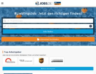 beta.jobscout24.de screenshot