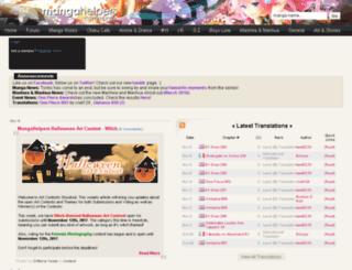 beta.mangahelpers.com screenshot