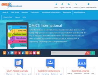 beta.omicsonline.org screenshot
