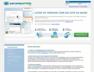 beta.parceriaperfeita.com.br screenshot