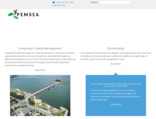 beta.pemsea.org screenshot