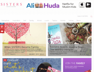 beta.sisters-magazine.com screenshot