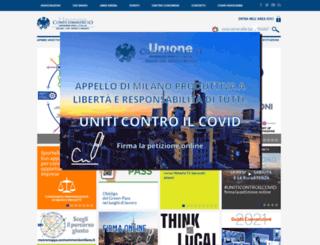 beta.unionemilano.it screenshot