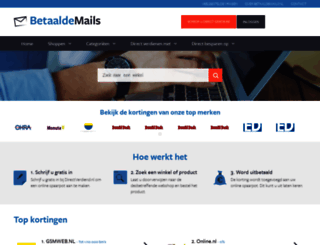 betaaldemails.nl screenshot