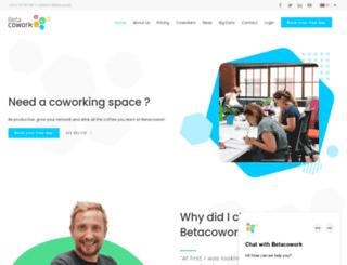 betacowork.com screenshot