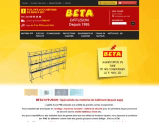 betadiffusion.com screenshot