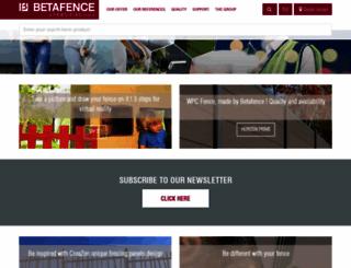 betafence.com screenshot