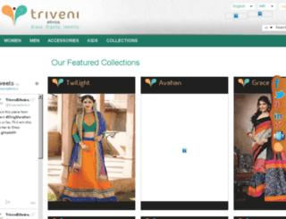 betam.triveniethnics.com screenshot
