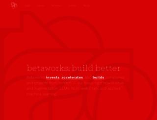 betaworks.com screenshot