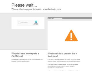 betbrain.com screenshot