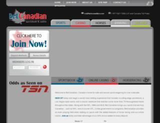 betcanadian.com screenshot