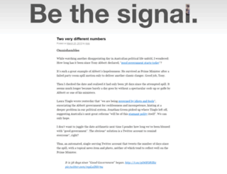 bethesignal.org screenshot