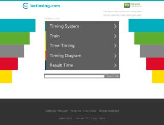 betiming.com screenshot