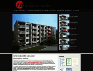 betonovelodzie.cz screenshot