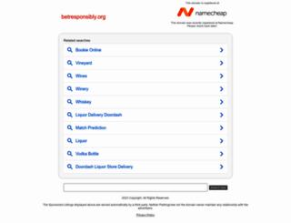 betresponsibly.org screenshot