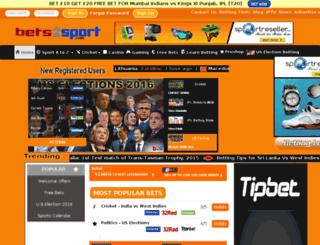 bets2sport.com screenshot