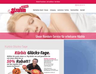 betten-strahm.ch screenshot