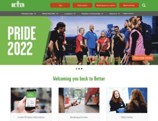better.org.uk screenshot