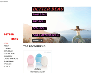 betterbeau.com screenshot