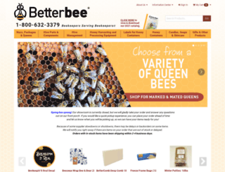 betterbee.net screenshot