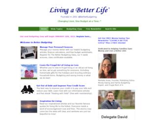 betterbudgeting.org screenshot