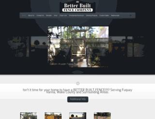 betterbuiltfenceco.com screenshot