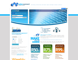 betterconnect.co.za screenshot