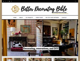 betterdecoratingbible.com screenshot