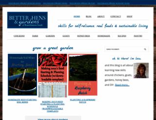betterhensandgardens.com screenshot