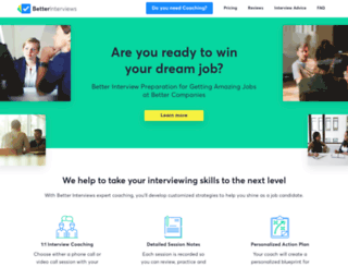 betterinterviews.com screenshot