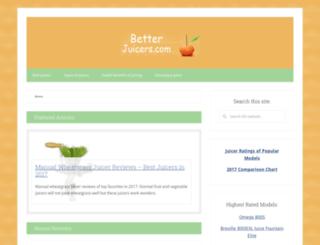 betterjuicers.com screenshot
