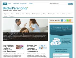 betterparenting.com screenshot