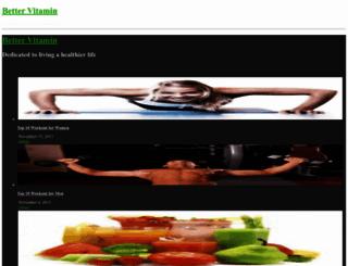 bettervitamin.com screenshot