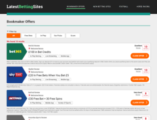 betting-tipsters.com screenshot
