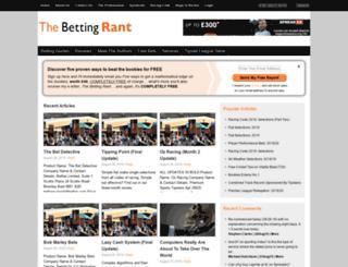 bettingrant.co.uk screenshot