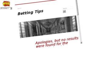 bettingtippers.wordpress.com.tossover.com screenshot