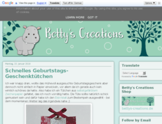 bettys-creations.blogspot.ro screenshot