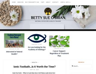 bettysueobrian.com screenshot