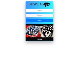 betwc.ag screenshot