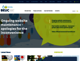 beuc.eu screenshot