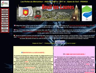 beuil.com screenshot