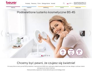 beurer.pl screenshot