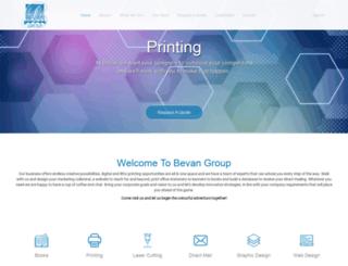 bevan.co.za screenshot